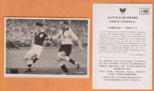 West Germany v Ireland Kohlmeyer Kaiserslautern Ringstead Sheffield United A108 (B)